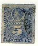 Stamps America - Chile -  Colon Ed 1878