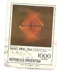 Stamps Argentina -  expansion de la luz sobre la linea