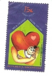 Stamps Argentina -  Hosp. Dr. p. de Elizalde