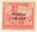 Stamps Rwanda -  SELLO CONGO BELGA