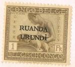 Sellos de Africa - Rwanda -  SELLO CONGO BELGA