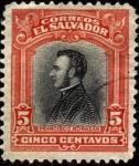 Stamps America - El Salvador -  Francisco Morazán. 1911.