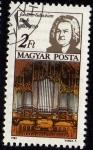 Stamps Hungary -  Johann Sebastian Bach · 1685-1750