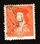 Stamps : Europe : Spain :  V Cent. Fernando el Católico