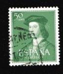 Stamps Spain -  V Cent. Fernando el Católico
