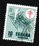 Stamps : Europe : Spain :  Pro tuberculosos