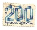 Stamps Argentina -  colores de la Bandera