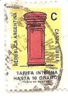 Stamps Argentina -  Buzon