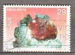 Sellos de Europa - España -  E3284 Minerales (543)