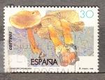 Sellos de Europa - España -  E3342 Micología (553)