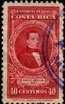 Stamps Costa Rica -  Manuel Aguilar.