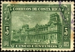 Stamps of the world : Costa Rica :  Correos y Telégrafos de Costa Rica. UPU 1923