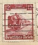 Sellos de Europa - Alemania -  Locomotora vapor