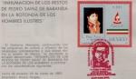 Sellos de America - México -  Mexico Pedro Sainz de Baranda marcofilia 87'