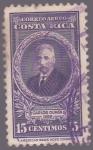 Sellos de America - Costa Rica -  Carlos Durán  1889 - Correo Aéreo