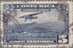 Stamps Costa Rica -  Correo Aereo