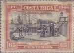 Stamps Costa Rica -  Correo Aereo - Cólon en Cariarí - 18 Septiembre 1502