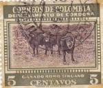Stamps of the world : Colombia :  Correos de Colombia - Departamento de Cordoba - Ganado Romo Sinuano
