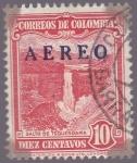 Stamps of the world : Colombia :  Correos de Colombia Aereo - Salto de Tequendama