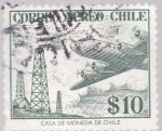 Stamps Chile -  Correo Aereo Chile