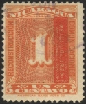 Stamps America - Nicaragua -  Reconstruccion Comunicaciones.