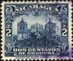 Sellos del Mundo : America : Nicaragua : Catedral de León.