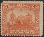 Sellos del Mundo : America : Nicaragua : Catedral de Leon.