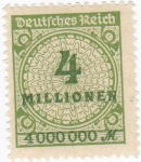 Stamps Germany -  IMPERIO ALEMAN