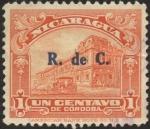 Stamps Nicaragua -  Palacio Nacional de Managua.