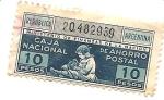 Stamps : America : Argentina :  Caja de ahorro