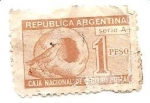 Stamps : America : Argentina :  Casa de Hornero