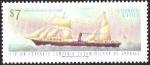 Stamps Chile -  110º ANIVERSARIO COMPAÑIA SUDAMERICANA DE VAPORES - VAPOR COPIAPO
