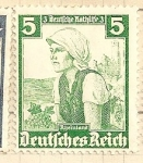 Sellos de Europa - Alemania -  Trajes regionales