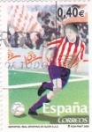 Stamps Spain -  Clubs de futbol centenarios- Sporting de Gijón   (B)