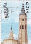 Sellos de Europa - España -  Santa María- Calatayud    (B)