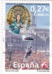 Stamps Spain -  Fiestas populares-Fiesta de la Virgen Blanca (Vitoria-Gasteiz)   (B)