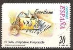 Sellos de Europa - España -  Correspondencia epistolar escolar