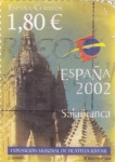 Stamps Spain -  Exposición mundial de filatelia Salamanca 2002   (B)