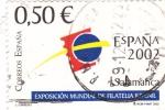 Sellos de Europa - España -  Exposición mundial de filatelia Salamanca 2002   (B)