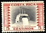 Stamps Costa Rica -  Industrias nacionales, aceites y grasas.