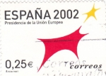 Stamps Spain -  Presidencia de la Unión Europea 2002   (B)