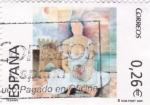 Sellos de Europa - España -  pintura-Fesanpe   (B)