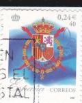 Sellos de Europa - España -  Escudo real    (B)