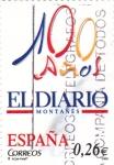 Sellos del Mundo : Europa : España : 100 años El Diario montañés    (B)