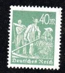 Sellos del Mundo : Europa : Alemania : Agricultores