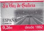 Stamps Spain -  LA VOZ DE GALICIA  desde 1882      (B)