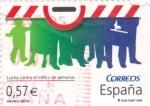 Stamps Spain -  Lucha contra el tráfico de personas   (B)