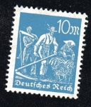 Stamps : Europe : Germany :  Agricultores