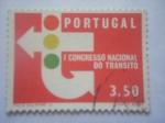 Stamps Portugal -  1ER congreso nacional de transito