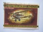 Sellos de America - Colombia -  Historia de la aviacion colombiana